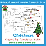 Christmas Adapted Thematic Pack
