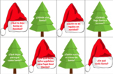 Christmas 'Wh' Question BOOM CARDS- SPANISH - NO PRINT/PREP