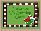 Christmas Wh-Question Cards