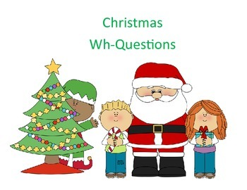 Christmas Wh-Questions