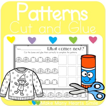Christmas What Comes Next Patterns: Get 3 for 2