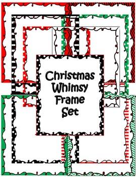 Christmas Whimsy Frame Set