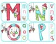 Christmas Whimsy:  Matching Uppercase & Lowercase Letters