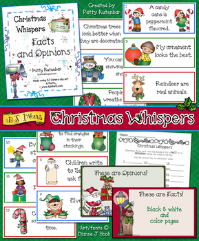 Christmas Whispers - Facts and Opinions Activity Download