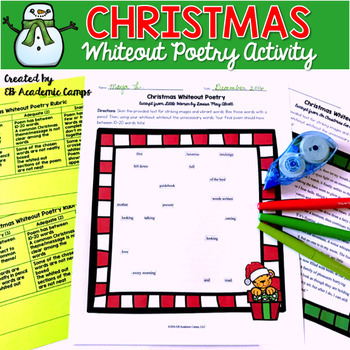 Christmas Poetry Activity