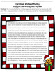 Christmas Whiteout Poetry Activity