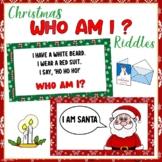 Christmas Who Am I Riddles   Brain Brain   Virtual Christmas Party