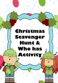 Christmas Facts Reading Comprehension Scavenger Hunt + Game