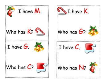 Christmas Who Has Letters...
