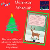 Christmas Whodunit Maths Mystery
