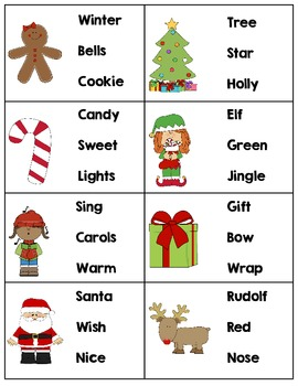 Christmas & Winter ABC Order
