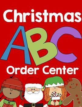Christmas & Winter ABC Order