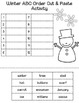 Christmas/ Winter Activity Pack