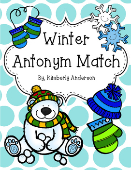 Christmas / Winter Antonyms Match