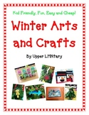 Christmas Winter Art and Craft Activity Bundle FUN Kid Friendly Cheap Creative
