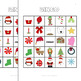 Christmas / Winter Bingo Game Pack: 35 Cards, Plus Create-Your-Own Sheets
