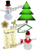 Christmas/Winter Clip Art Collection