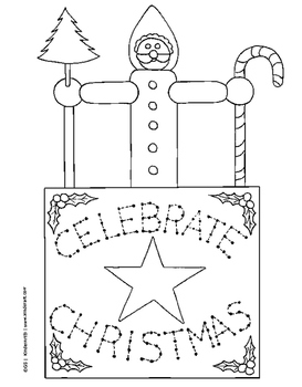 Christmas/Winter Coloring Pages and Printables