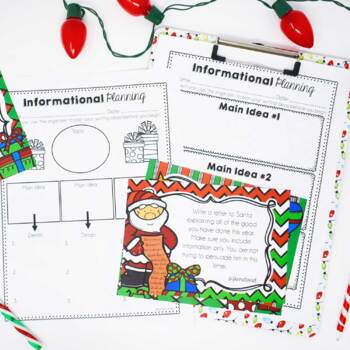 Christmas & Winter Common Core Writing: Opinion, Informative, and Narrative