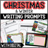 Christmas & Winter Writing Prompts - w/ Digital Writing Go