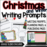 Christmas & Winter Common Core Writing: Opinion, Informati