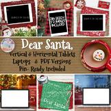Christmas Mockups Winter December Digital | iPads Laptops