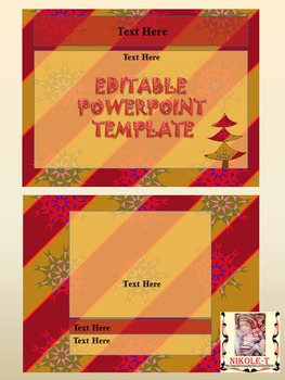 Winter - Editable Powerpoint templates - Commercial use