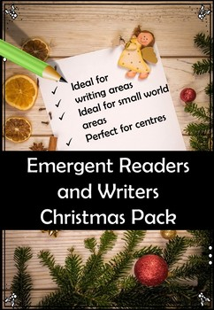 Christmas and Winter Themed Emergent Writing Pack