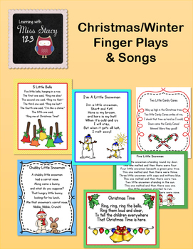 Christmas/Winter Finger Plays & Songs