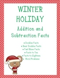 Christmas Winter Holiday Addition & Subtraction With Word