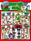 Christmas / Winter Holiday Clipart - Graphics - BUNDLE SET