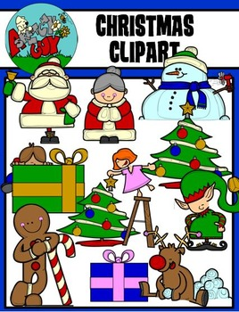 Christmas / Winter Holiday Graphic - Clip art Clipart