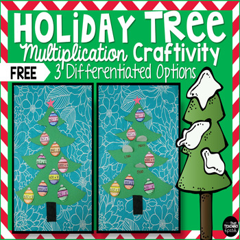 Free Differentiated Holiday Tree Multiplication and Divisi