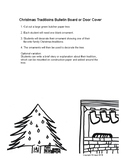 Christmas / Winter Holiday Traditions Bulletin Board or Do