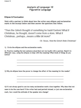Christmas / Winter Lesson Plan Pack PERFECT for Middle School ELAR
