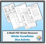 Christmas Winter Math: Nets, Tally, Chart