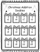 Christmas & Winter- Math Worksheets for 1st Grade- No Prep