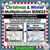 Christmas & Winter Multiplication BUNDLE that is Inclusive for All Students