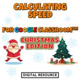 Christmas Winter Physics Calculating Speed Velocity Intera