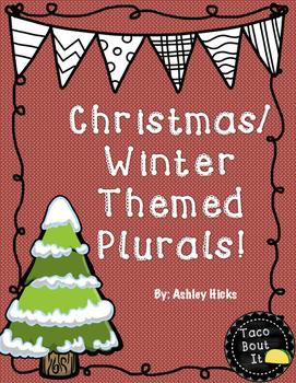Christmas/Winter Plurals!