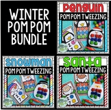 Christmas & Winter Pom Pom Tweezing Bundle