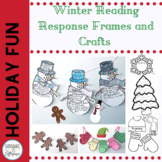 Christmas Winter Reading Comprehension Response Crafts