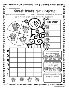 Christmas - Winter Sweet Treat Graphing Fun Activities!