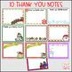 Christmas & Winter Thank You Notes--Editable & Pre-Made