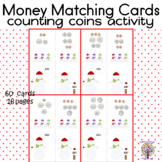 Christmas Winter Theme Money Matching Cards