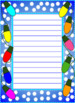 Christmas/Winter Themed Writing Paper - Digital and Printable  Upper Elementary
