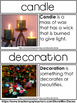 Christmas Winter Word Wall Real World Pictures Photographs