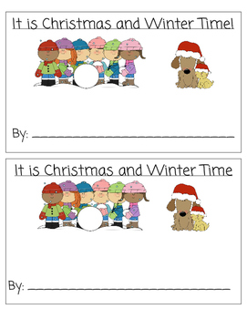 Christmas-Winter Writing Book