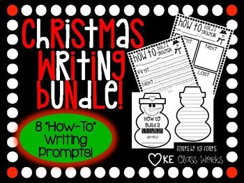 Christmas/Winter Writing Bundle