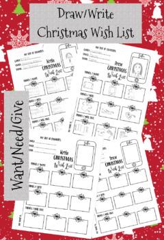 Christmas Lists.Christmas Wish List